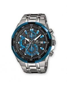CASIO BRAND EFR-539D-1A2VUEF Reloj Edifice Analogico,Acero Inox,Azul,Fecha,Cronometro,Resist al Agua