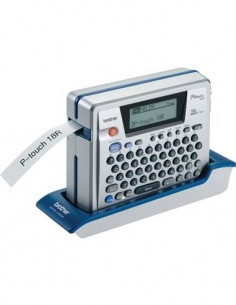 BROTHER Rotuladora  P-TOUCH PT-18R Con Teclado + Conexion Pc, Usb