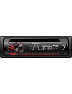 PIONEER Radio CD Coche Con Bluetooth DEH-S320BT Usb/Android/Spotify