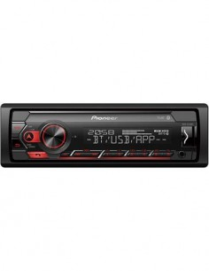 PIONEER Radio CD de Coche Bluetooth MVH-S320BT Mp3, Aux In, Usb, FLAC Compatible Con Android,Spotify