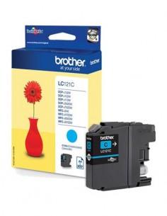 BROTHER Tinta LC121 Cyan Para DCP-J132W/J152W/J552DW/MFC-J470/J650