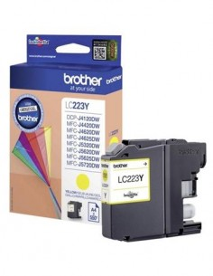 BROTHER Tinta LC223 Amarillo Para DCP-J4120DW/4420/4620/MFC-J5320/5625/5720