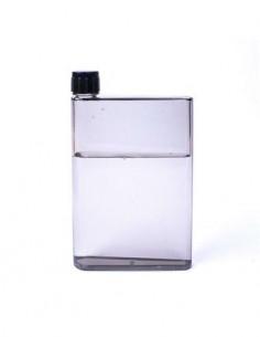 CATWALK Botella Libreta Para Agua H20 Negra Plastico BPA Free 420ml