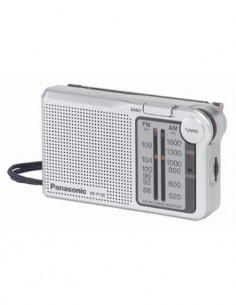 PANASONIC Radio AM/FM RF-P150 Plata