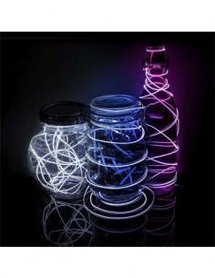 CATWALK Luz de Neon Moldeable 3Mtrs Blanca A Pilas