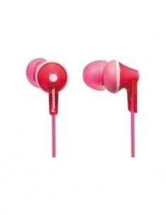 PANASONIC Mini Auriculares Estereo RP-HJE125 Rosa