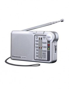 PANASONIC RF-150D Radio Bolsillo AM/FM Plata