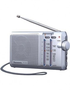 PANASONIC Radio Portatil Am/Fm RF-U16OD Plata