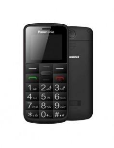 PANASONIC Telefono Movil KX-TU110EXB Negro Dual Sim, Teclas Grandes, Boton SOS, Bluetooth, Micro Sd