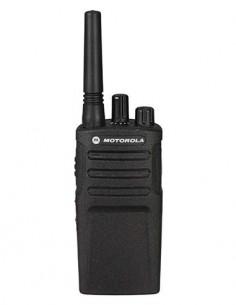 MOTOROLA Emisora Portatil PMR446 XT420 8 Canales, Alcance 9 Km con encriptador de voz y vox control