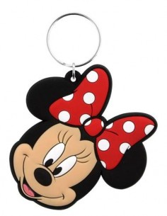 DISNEY Llavero Cara Minnie Mouse