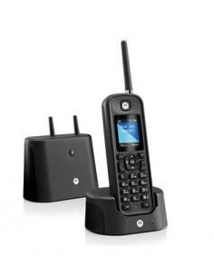 """MOTOROLA Telefono Inalambrico O201 Largo Alcance 1KM LCD 1.8"""", IP67 Resistente al Agua"""