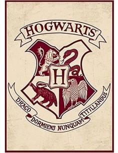 HARRY POTTER Iman Metalico Escudo Hogwarts MAGMHP01