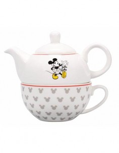 DISNEY Mickey Mouse 2 en 1 Tetera+ Taza TFOR1MM03