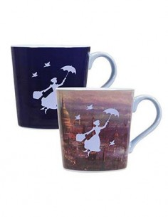 DISNEY Taza Mug Mary Poppins Cambia Imagen Con El Calor MUGBDF20
