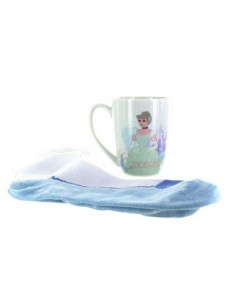 DISNEY Taza Cenicienta + Calcetines
