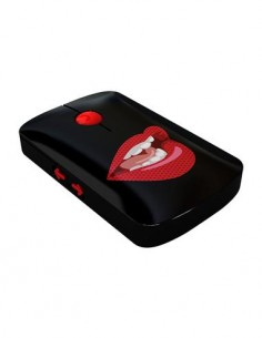 CLICK Raton Por Usb Con Diseño Labios Rojos
