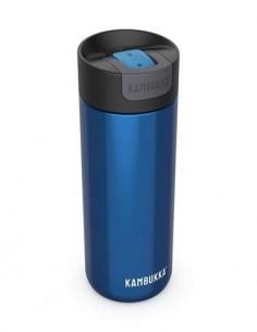 KAMBUKKA Termo Olympus 500ml Azul Metalizado 10h Caliente/20h Frio Con Bloqueo