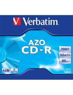 VERBATIM CD-R 52X 700 MB Super AZO Doble Proteccion