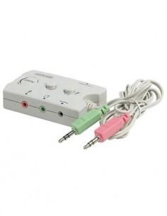 KONIG Switch Conmutador de Audio CMP-SWITC17
