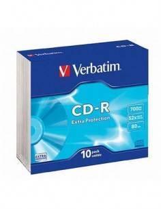 VERBATIM CD-R 700Mb/52X/80Min Individual