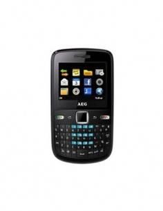 AEG Movil  X200 Negro Dual Sim Radio Fm, 1.3Mpx, Bt, Redes Sociales, Video, Mp3