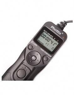 PHOTTIX Disparador Camara De Cable Con Intravalometro TR-90 Para Nikon N8