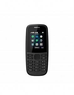 NOKIA Telefono Movil 105 4th Edition TA-1174 DS Negro Dual Sim, Linterna, Radio Fm