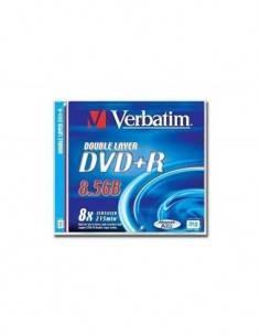 VERBATIM DVD+R DL 8X AZO 8.5GB Doble Capa 240MIN