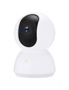 XIAOMI Camara Vigilancia Mi Home Wifi 360º 1080P Blanca, Ranura Micro Sd