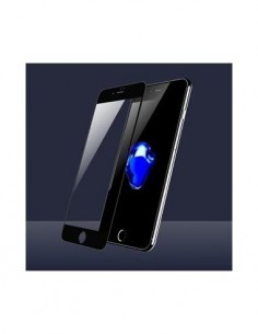 DEVIA Protector Pantalla IPHONE 8/7 Cristal Frontal  Negra