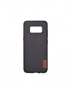 DEVIA Funda Flax Samsung S9 +Tpu Negra