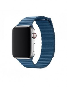 DEVIA Correa Elegant Leather Apple Watch 4 38/40mm Azul 325168