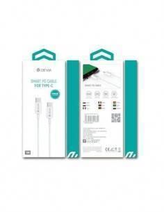 DEVIA Cable Tipo C M/M 1 Mtrs Blanco 325380