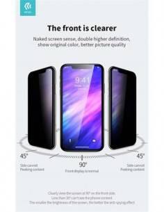 DEVIA Protector Pantalla IPHONE X/XS, Iphone 11 Pro Max Cristal Privacidad Antiespia