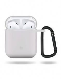 DEVIA Funda Silicona Para Apple Airpods Pro Blanco