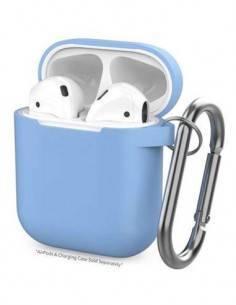 DEVIA Funda Silicona Para Apple Airpods Pro Azul
