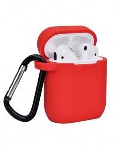 DEVIA Funda Silicona Para Apple Airpods Pro Rojo
