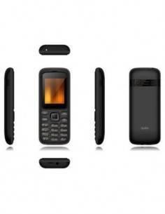 QUBO Telefono Movil GEA Negro, Dual Sim, Radio Fm, Micro Sd