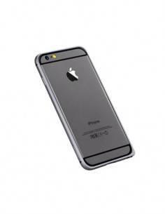 DEVIA Protector Pantalla IPHONE 6 Cristal Frontal  Negra + Trasera