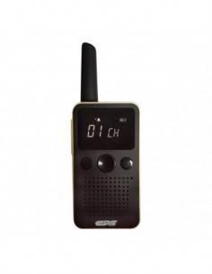 CPS Mini Walkie PMR 446 CP228 Dorado 8 Canales