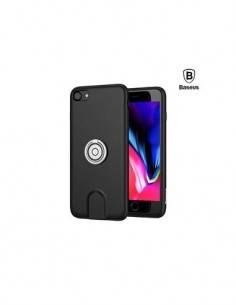 BASEUS Cargador Inalambrico Magnetico + Funda Para Iphone 7/8 Negro 5V/1Amp
