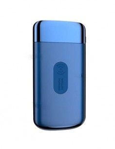 JOYROOM Cargador Inalambrico +Bateria Externa Portatil 10000mAh JR-D121 Azul 2X Usb