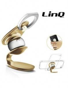 LINQ Soporte Movil Magnetico 360º Con Anilla HD-272 Surtido Colores
