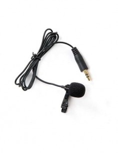 BOYA Microfono Lavalier Para Gopro Con Toma Mini Usb BY-LM20