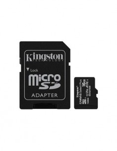 KINGSTON Tarjeta Memoria Micro Sd 16Gb Con Adaptador Sd 100Mb/s Clase 10