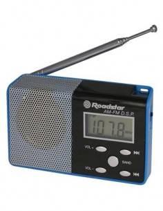 ROADSTAR Radio Digital TRA2395P MW/FM PLL Azul 50 Memorias