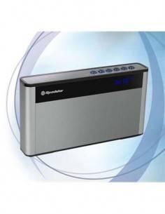 ROADSTAR Altavoz Portatil Bluetooth TRA-570US/BT Con Usb, Radio FM, Aux, Ranura Micro SD Plata