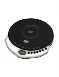 TREVI Reproductor CD/MP3 Discman CMP498 Negro