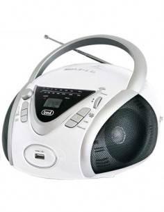 TREVI Radio CD Portatil CMP 542 USB Blanco